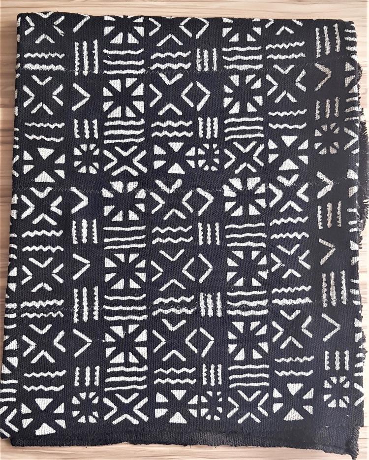 Bogolan noir africantextil