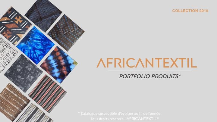 PORTFOLIO AFRICAN TEXTIL