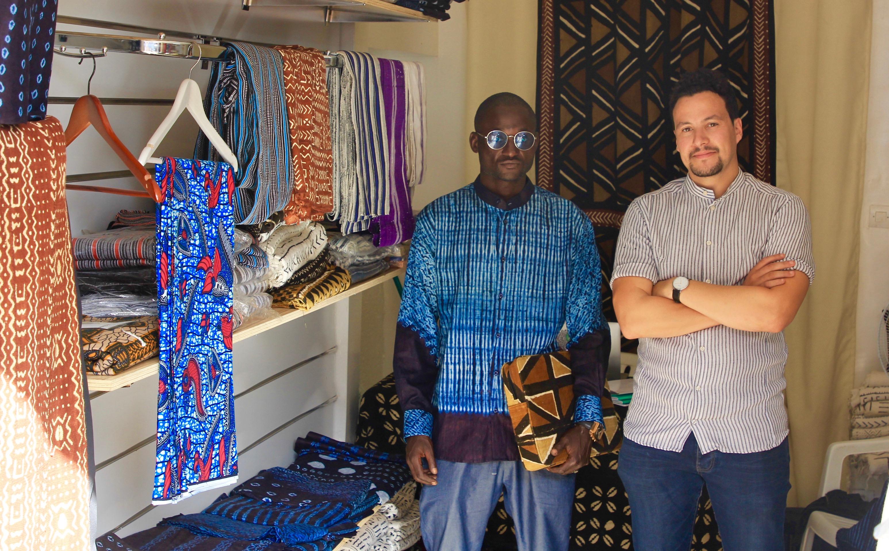 boutique african textil